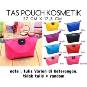Dijual Mini Tas Kosmetik Pouch Dompet Kecil Hitam Murah Tokopedia