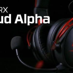 Hyperx Cloud Alpha Gaming Heradset Harga Murah Tokopedia