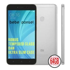 Redmi Note 5a Pro Gray 4gb 64gb Rom Global Bonus Tempered Glass Dan Ultra Slim Case Tokopedia