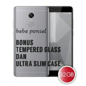 Redmi Note 4x Lte Gray 3gb 32gb Snap Dragon Bonus Ultra Slim Case Garansi 1 Tahun Tokopedia