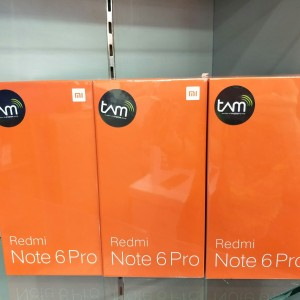 Xiaomi Redmi Note 6 Pro Ram 4gb Internal 64gb Garansi Resmi Tam Tokopedia