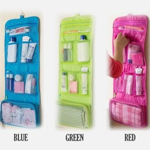 Bw Tas Alat Mandi Toilet Kosmetik Gantung Lipat Tokopedia