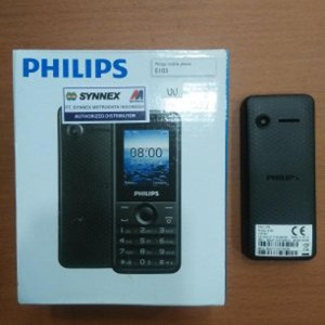 Philips E103 Warna Hitam Tokopedia