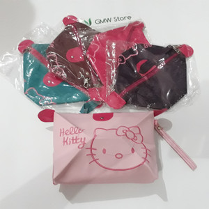 Dompet Kosmetik Hello Kitty Bordil W105 Gmw Grosir Online Tokopedia