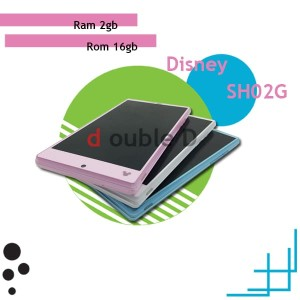 Sharp Sh 02g Disney Ram 2gb Internal 32gb Second Tokopedia