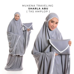 Mukena Dewasa Rayon Traveling Sharla ( Tas Amplop )