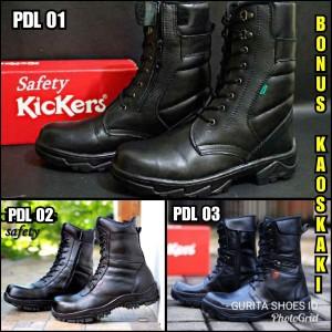 Sepatu Kickers Boots Kulit Pria Tokopedia