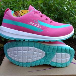 Sepatu Ando Lindsey Pink Tokopedia