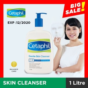 Cetaphil Gentle Skin Cleanser 1000ml Harga Promo Tokopedia