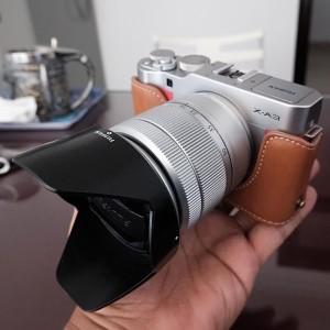 Fuji Xa3 Lensa Kit Mulus Murah Tokopedia