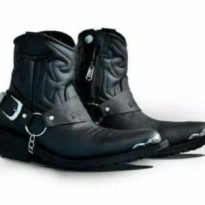 Sepatu Jenggel Boots Kulit Tokopedia