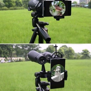 Smartphone Holder Adapter Teropong Untuk Teropong Binocular Monocular Telescope Tokopedia
