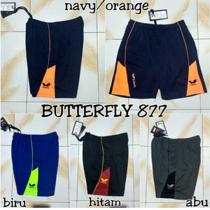 Celana Tenis Meja Celana Pingpong Butterfly Tokopedia