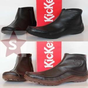 Sepatu Boot Resleting Kickers 0999 Tokopedia