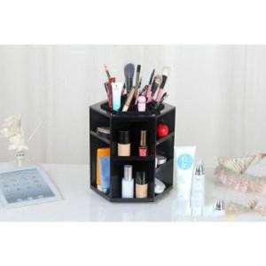 Dijual Rak Kosmetik Makeup Berputar 360 Derajat Black Diskon Tokopedia