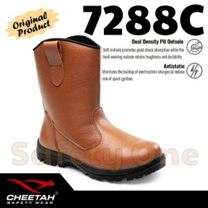 Jual PROMO Cheetah 7288C Sepatu Safety Shoes Boot Ergonomis Limited cbab9e9a1f
