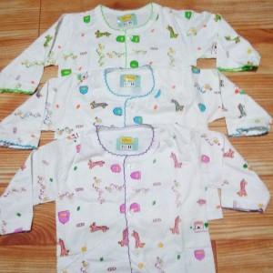Baju Bayi 3pcs Setalan Baju Bayi Bayu Bayi Piyama Baju Tidur Bayi Tokopedia