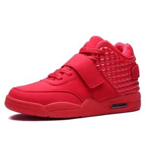 (IMPORT) Sepatu Basket High Top Casual dengan Air Cushion untuk Pria 96b823bd75