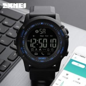 Smartwatch Bluetooth Waterproof Canggih Jam Tangan Skmei Original Tokopedia