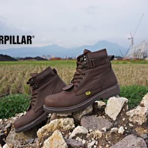 Sepatu Caterpillar Aliando Safety Boots Tokopedia