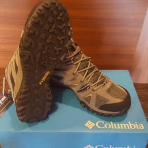 Sepatu Gunung Columbia Grand Canyon Mid Outdry Shark Dark Banana Tokopedia