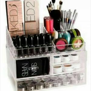 Tempat Kosmetik Akrilik K3 Acrylic Make Up Organizer Tokopedia