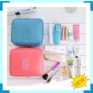 Multi Pouch Toiletry Tas Perlengkapan Mandi Kosmetik Skincare Travel Tokopedia