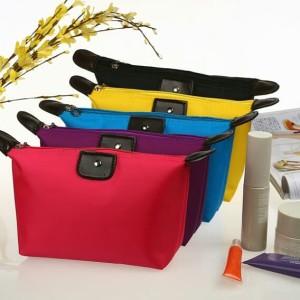 Tas Kosmetik Polos Colorfull Cosmetic Bag Dompet Kosmetik Tokopedia