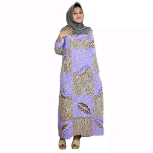 Baju Daster Batik Bumil Ungu Tokopedia