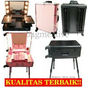 Sale Beauty Case Tempat Makeup Kotak Kosmetik Eveline 002 Putih Tokopedia