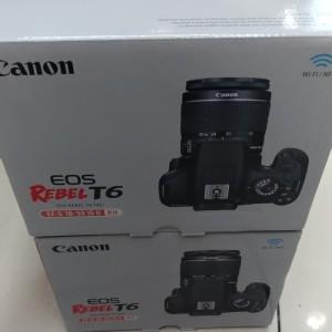 Canon Eos T6 Rebel Kit Atau 1300d Tokopedia