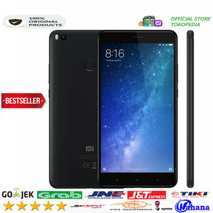 Xiaomi Mi Max 2 64 Gb Smartphone Black Tokopedia