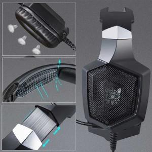 Headset Headphone Earphone Gaming Onikuma K8 Rgb Untuk Smartphone Dan Pc Pubg Fortnite Tokopedia