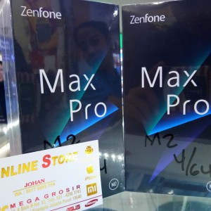 Asus Zenfone Max Pro M2 64gb 4gb Midnight Blue Tokopedia