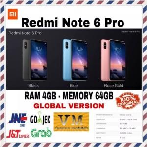 Xiaomi Redmi 6 Pro Ram 4gb Internal 64gb Garansi Distributor 1 Tahun Tokopedia