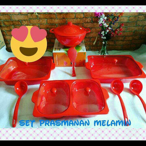 Set prasmanan melamin golden dragon