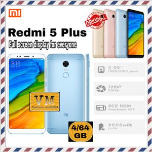 Xiaomi Redmi 5 Plus 4gb 64gb Black Tokopedia
