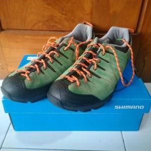 Sepatu Shimano Sh Ct80r Green Vert Ukuran 43 Tokopedia