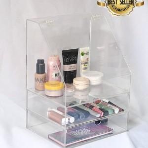 Akrilik Kosmetik Skincare Rak Makeup Br3 Tokopedia