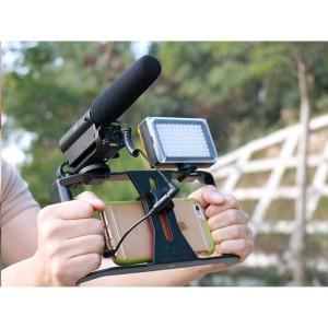 Smartphone Handheld Rig Stabilizer Kamera Hp Android Stand Kamera Youtuber Tokopedia