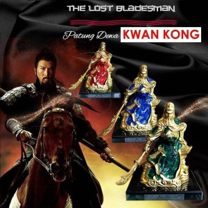 Patung Dewa Kwan Kong (PG01 & PG02)