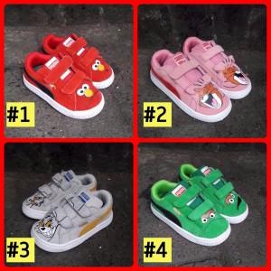 Sepatu Puma Kids Suede Karakter Tokopedia