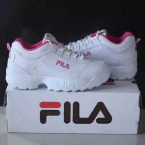 Jual Sepatu fila grade ori vietnam putih untuk cewek wanita sneakers senam fb37c018d5