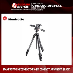 Manfrotto Tripod Compact Advanced Mkcompactadv Harga Murah Tokopedia