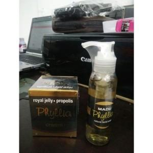 Phyllia Propolis Cream Original Kosmetik Jerawat Tokopedia