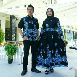 Produk Baju Gamis Motif Bunga2 Topharga Biz Id