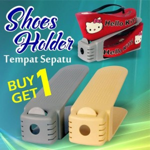 Rak Sepatu Shoes Organizer Buy1 Get 1 Tokopedia