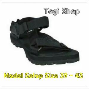 Sandal Sendal Eiger Gunung Model Selop Tokopedia