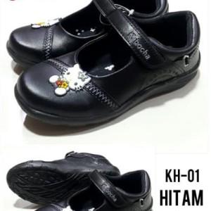 Sepatu Anak Perempuan Kabocha Kh01 Hitam Tokopedia