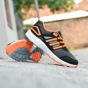 Sepatu Adidas Tracker Adinova Sport Running Outdor Gunung Olahraga Lari Pria Hitam Biru Tokopedia